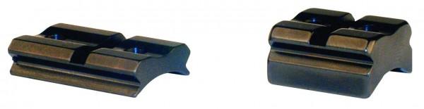Sockelpaare und Schienen mit Weaver-Prisma, aus Stahl