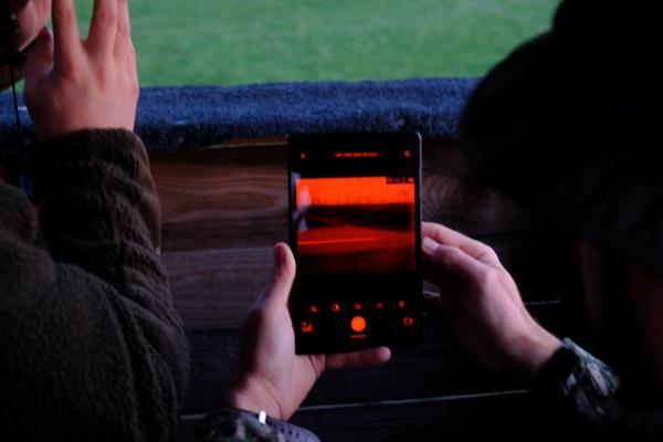 """Tablet Lenovo 8"""", mit Folie und Joby Grip"""