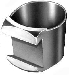 zylindrische Laufringe mit Ansatz