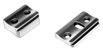 Sockelpaare und Schienen mit 16mm-Prisma