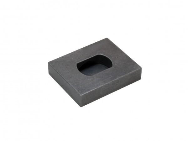 Fußplatte-Rohling für Pivotzapfen